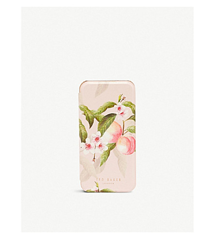 TED BAKER Donella iPhone 8 case (Light+pink