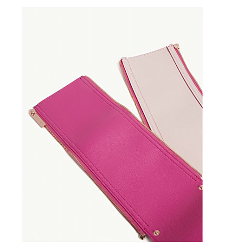 TED BAKER Mix and match tote bag side panels (Bright+pink