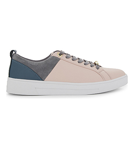 TED BAKER Colour by Numbers Vysta trainers (Pale+pink
