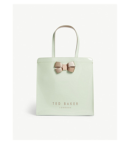 TED BAKER Vallcon large Icon shopper (Olive