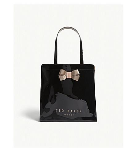 TED BAKER Vallcon large Icon shopper (Black