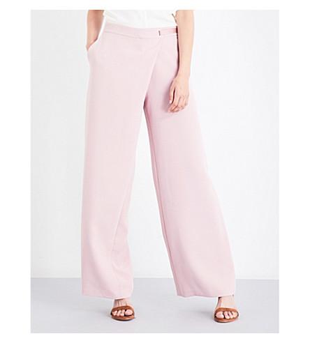 TED BAKER 亚辛包前华达呢长裤 (黑糊糊 + 粉红色