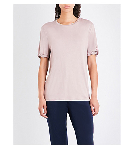 shirt BAKER Cold shoulder Nude TED T pink TED jersey BAKER q0B7ax0