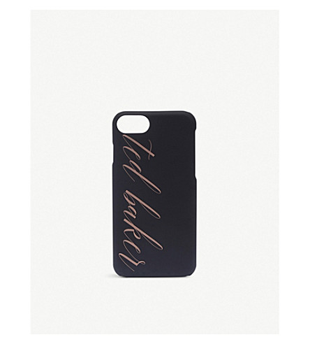 TED BAKER Tharese logo iPhone 8 case (Black