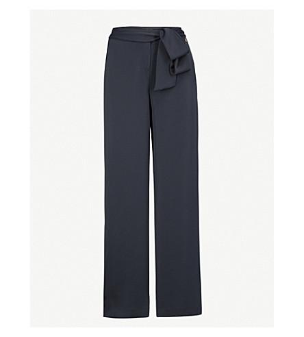 TED BAKER Maurli wide-leg trousers (Dark+blue