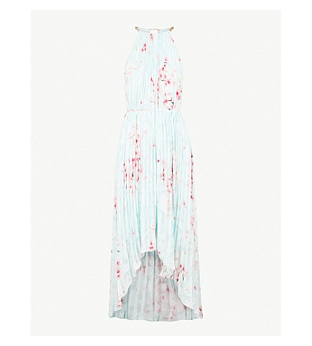 TED BAKER Aurelia devoré dress (Mint