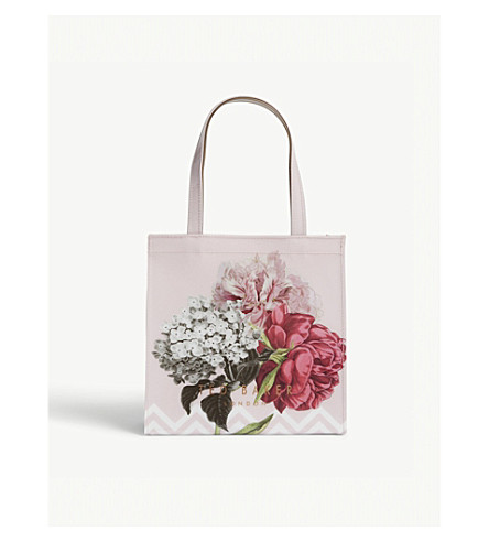 TED BAKER Emelcon Palace Gardens small tote (Dusky+pink
