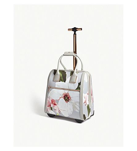 TED BAKER Ordina floral print travel bag (Mid+grey