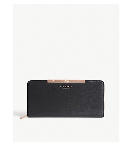 TED BAKER Matinee leather wallet (Black