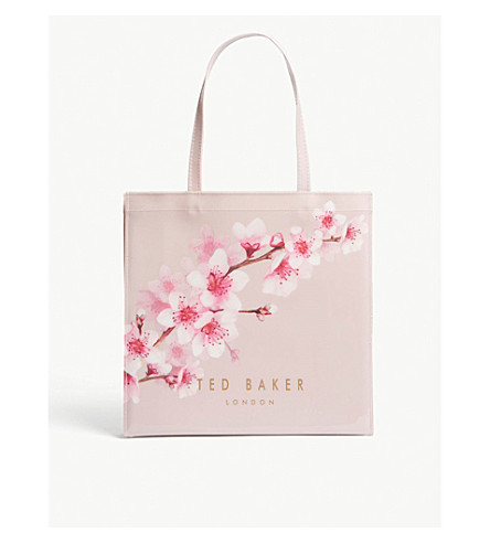 TED BAKER Pammcon large icon bag (Light+pink