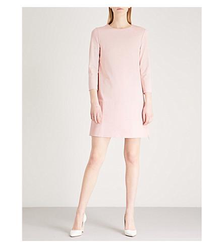 rosa y Mini oscuro con BAKER TED color vestido cuero paneles xZOgHwnf6