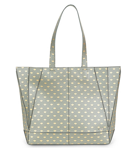 TED BAKER Marab bee printed shopper bag (Khaki