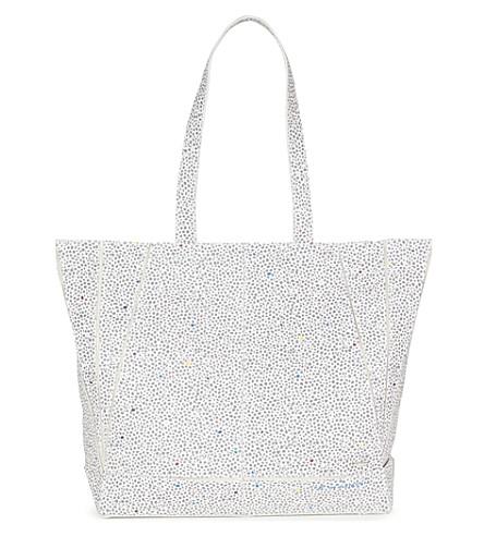 TED BAKER Toryia spot printed shopper bag (Ivory