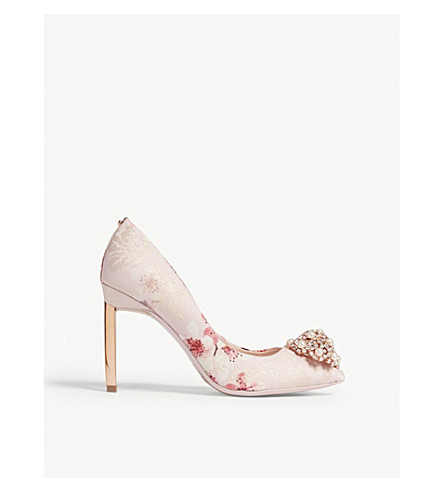 TED BAKER Peetch2 blossom jacquard courts (Light+pink