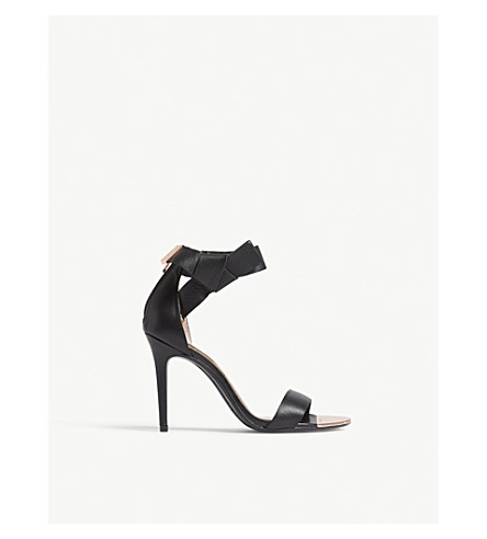 TED BAKER Saphrun leather sandals (Black