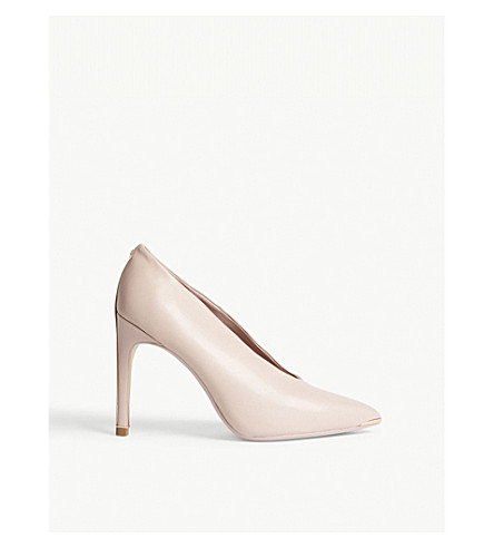 TED BAKER Bexz heeled vamp courts (Light+pink