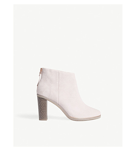 TED BAKER Azaila leather ankle boots (Mink
