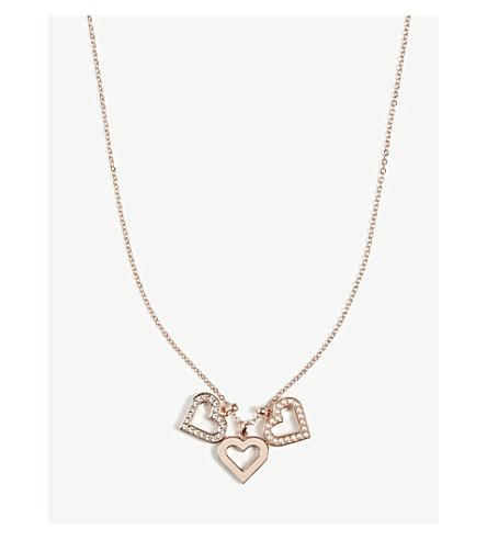 TED BAKER Ezzrela necklace (Rosegold+col