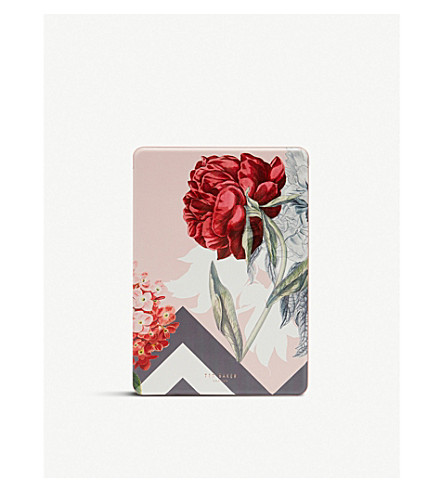 TED BAKER Ulica palace gardens iPad 2017 case (Dusky+pink