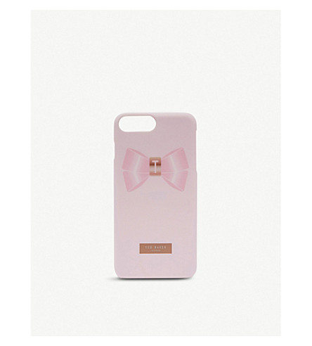 TED BAKER Golden bow iPhone 6/6S/7/8 Plus case (Light+pink