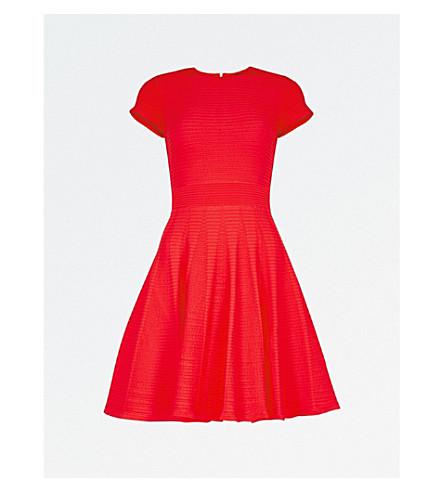 TED BAKER Lynndia 针织连衣裙 (红色