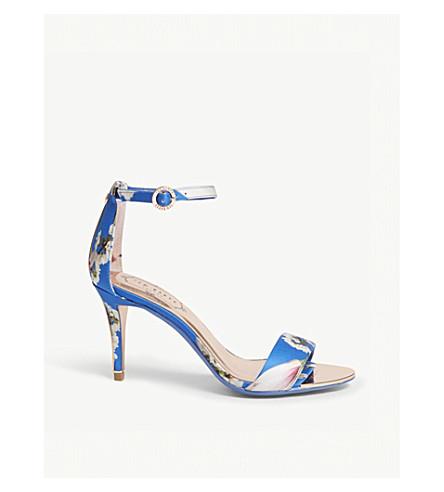 TED BAKER Mavbe floral sandals (Bright+blue