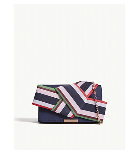 evening knot bow TED Navy TED BAKER bag DANNYY BAKER wqrXvYqH