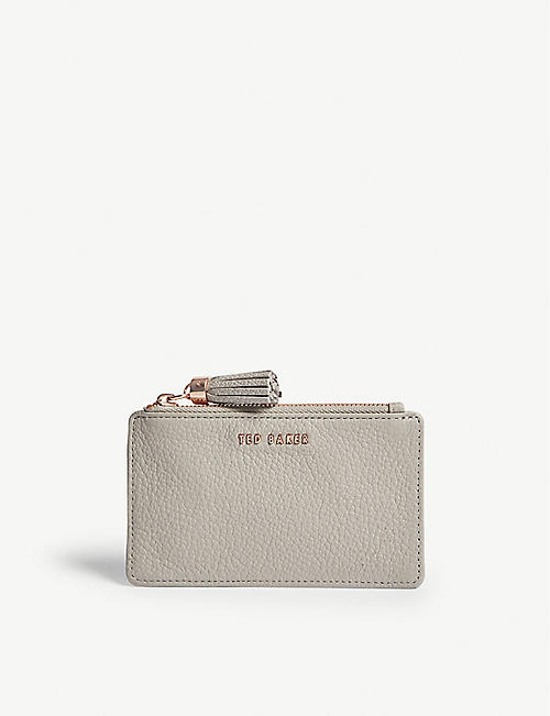 Womens Pouch On Sale, Silver, Leather, 2017, one size Giuseppe Zanotti