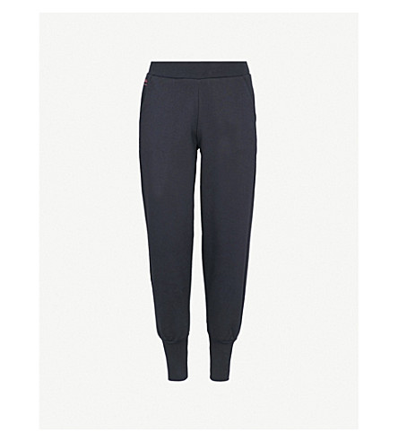 TED BAKER Ted Says Relax Radonna cotton-jersey jogging bottoms (Navy