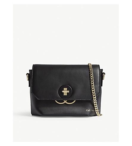 TED BAKER Tadu leather cross-body bag (Black