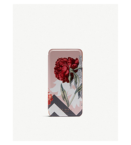TED BAKER Emmare Palace Gardens iPhone 8 Plus case (Dusky+pink