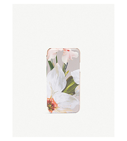 TED BAKER Chatsworth Bloom iPhone X case (Mid+grey