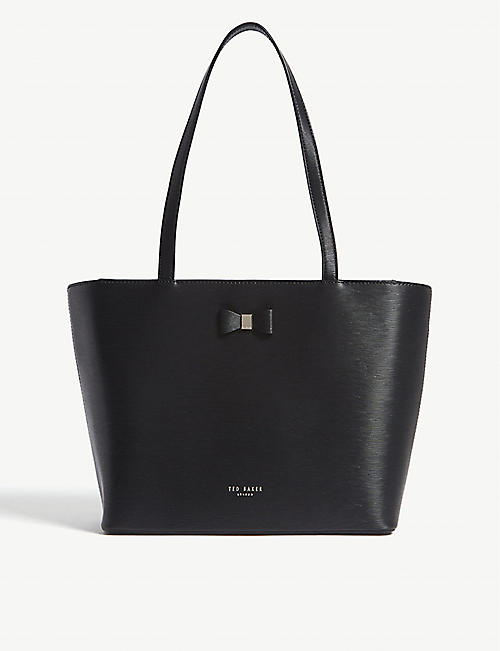 267a011633dfe4 TED BAKER - Deanie small leather shopper bag
