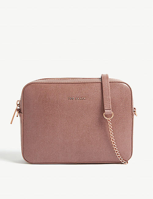 6a7ab83fe9c955 TED BAKER Marciee leather camera bag