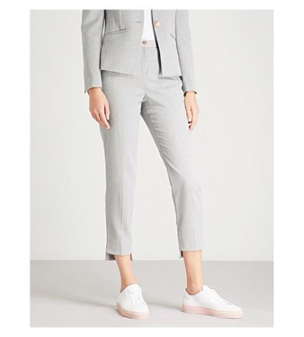 TED BAKER 阶梯式直织裤子 (灰色