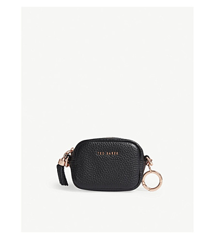 TED BAKER Mmorgan micro leather bag (Black