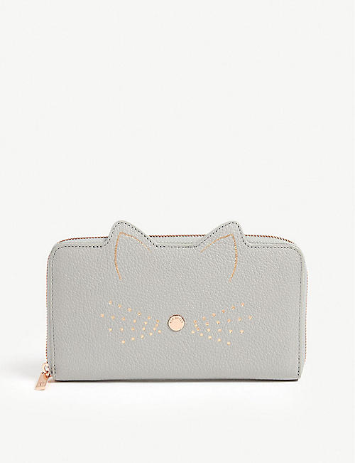 908515715081d9 TED BAKER - Serini leather matinee purse