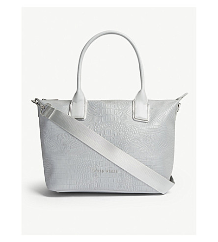 Ciscki reflective nylon tote
