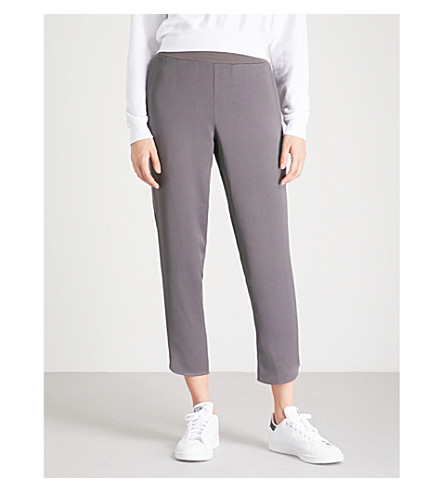 TED BAKER Satin-panels joggers (Charcoal