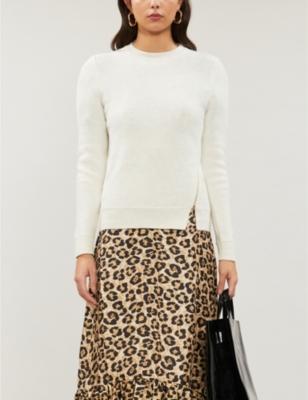Kenala zip-detail knitted jumper