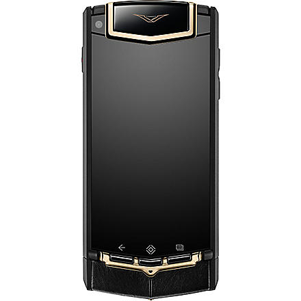 VERTU TI red gold mixed metals mobile phone (Black