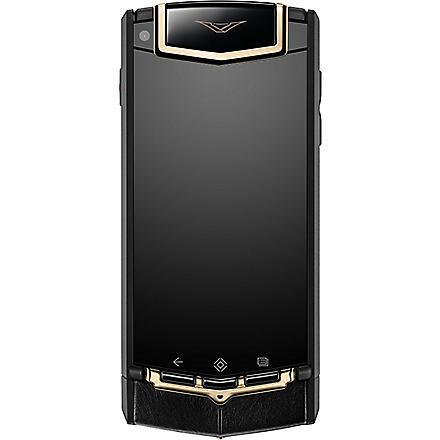 VERTU TI red gold mixed metals mobile phone (Black