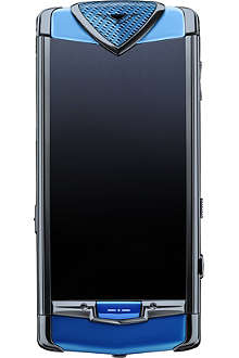 VERTU Limited Edition Constellation mobile phone in blue