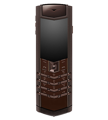 VERTU Signature Pure Chocolate PVD mobile phone (Brown