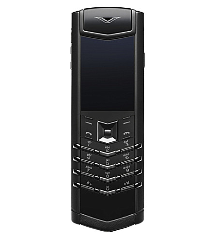 VERTU Signature pure black pvd mobile phone (Black