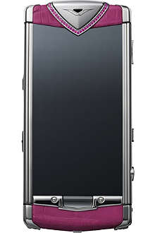 VERTU Constellation mobile phone in rasberry