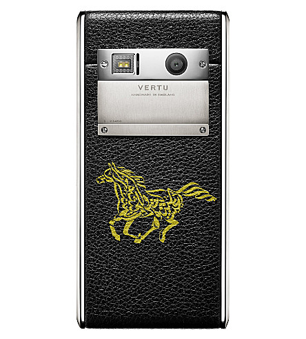 VERTU Aster Calligraphy Onyx calf leather (Onyx