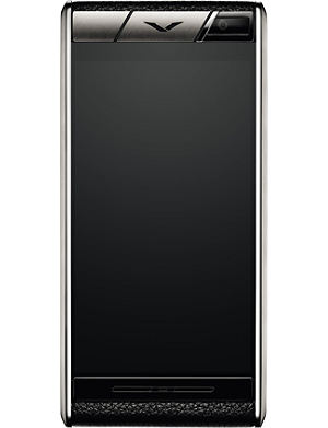 VERTU Aster Onyx calf-leather mobile phone