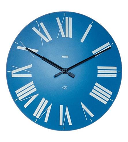 ALESSI Firenze wall clock (Azzurro