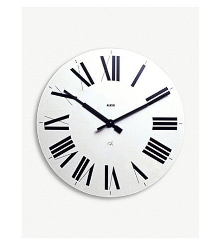 ALESSI Firenze wall clock (White